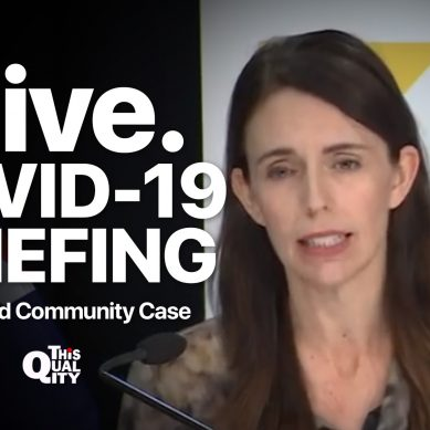 LIVE: PM Ardern and Dr Bloomfield give Auckland Community Case COVID-19 update