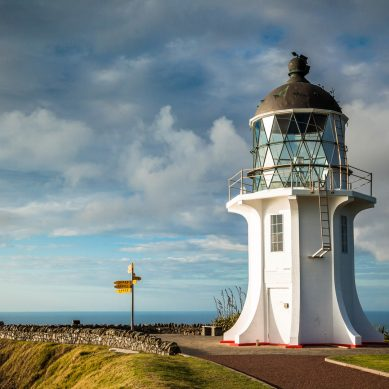 Driver originally reported missing at Cape Reinga, now located