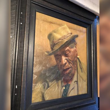 Painting stolen in Hamilton by Thug recovered by Authorities
