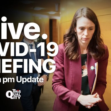 LIVE: PM Ardern and Dr Bloomfield review COVID-19 Alert Levels