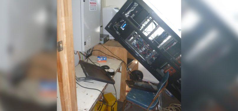 Server displaced on Raoul Island following magnitude 8.1 quake