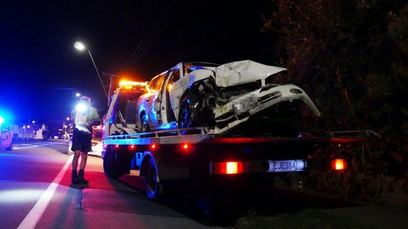 Car crashes into power pole on Tasman Rd killing driver, Ōtaki