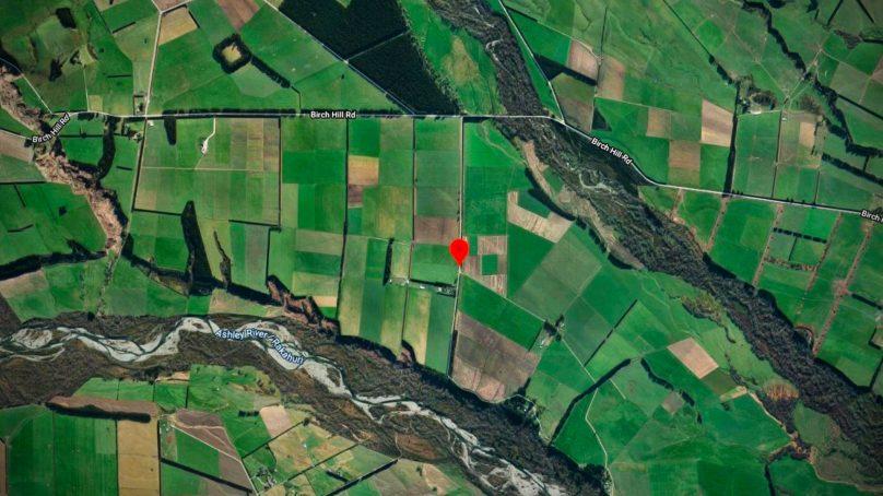 Light Aircraft crashes Northwest of Christchurch