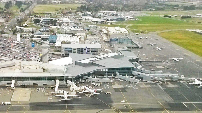 Light Aircraft crashes while landing at Christchurch Airport