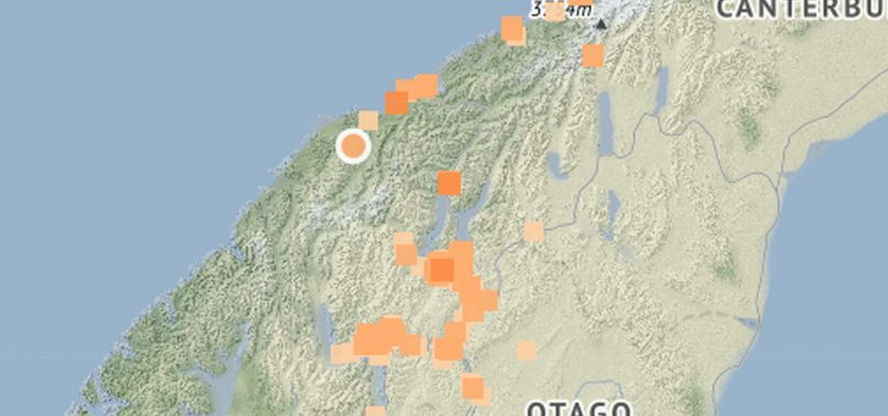 Magnitude 4.9 earthquake shakes lower South Island
