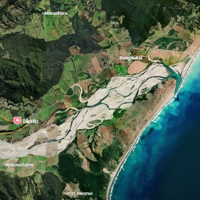 Search and Rescue initiated after Person goes missing from capsized Boat, Gisborne