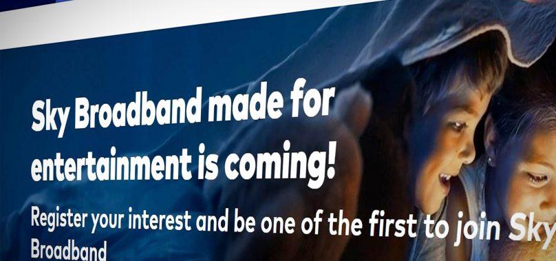 Sky launches new Fibre Broadband service