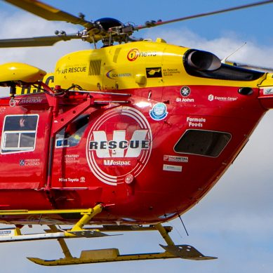 State Highway 3 blocked, Helicopter called following serious crash near Whanganui