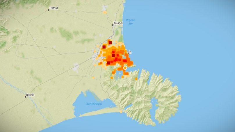 Thousands feel magnitude 3.2 Earthquake near Christchurch
