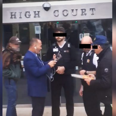 Conspiracy Theorist Billy Te Kahika kicked out of Wellington High Court after breaking rules