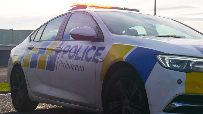Truck crashes into Power Pole in Bulls, Manawatū